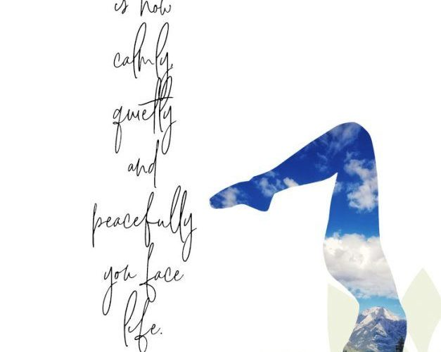 Yoga Quotes To Inspire Your Practice and Life. Find inspiration and wisdom in th…
