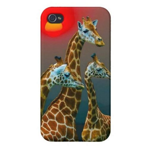 Giraffe in Sunset iPhone Case iPhone 4/4S Cover We provide you all shopping site…