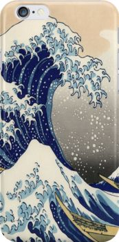 Great Wave Snap Case for iPhone 6 & iPhone 6s