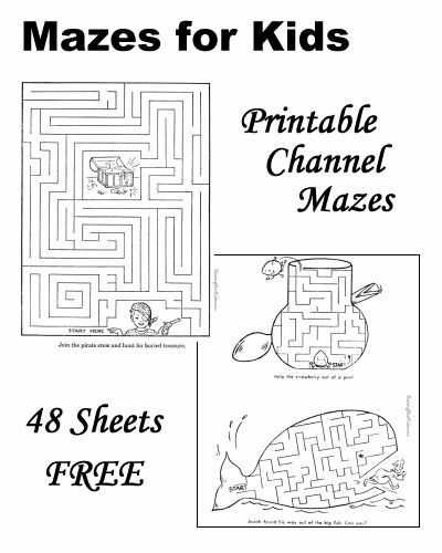 Mazes, Dot-to-Dot, Crossword Puzzles, How to Draw, Color by Number, Hidden Pictu…