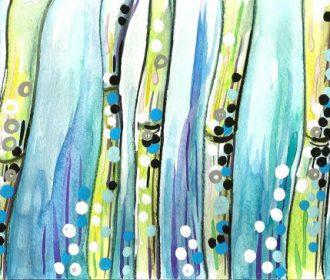 BAMBOO WATERCOLOR PAINTING original artwork for sale bamboo paintings ebay japan