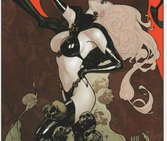 LADY DEATH ART PRINT – ADAM HUGHES ART & SIGNED PULIDO COA 11″x17″