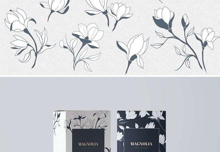 Floral Graphic Design Elements