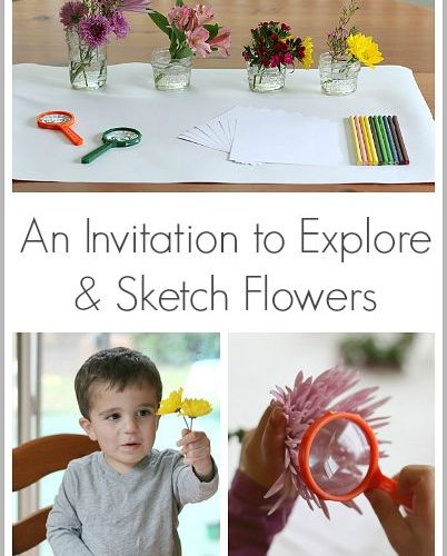 Great classroom center for spring! (Spring Activities for Kids: An Invitation to…