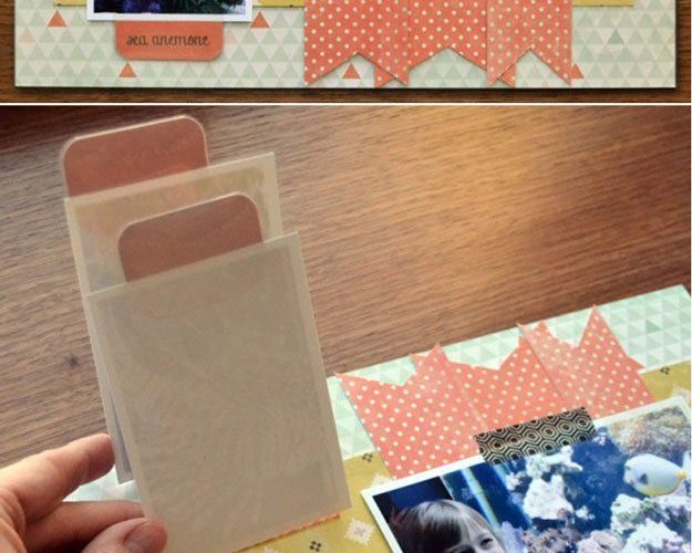 Unique and Easy Homemade Scrapbook Ideas | diyready.com/…