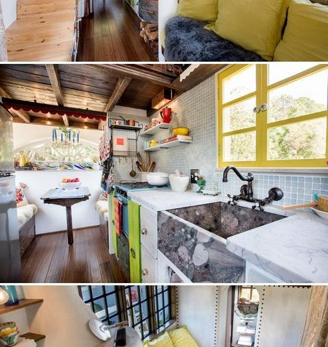 Florida couple Rebekah and Robert Sofia built their own tiny house, the Gypsy Me…