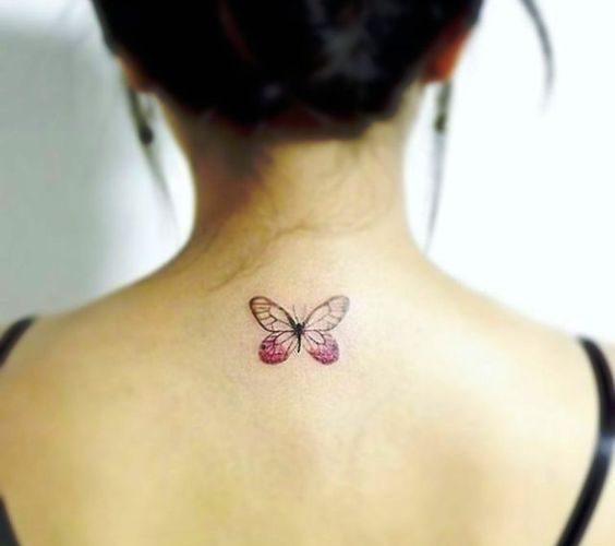 Little Purple Butterfly Design – www.tattooideas1…. (Cool Sketches Flowers)