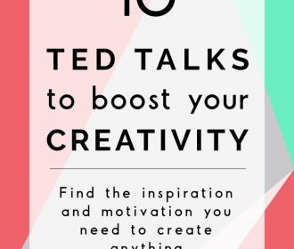 The best Ted Talks to boost your creativity. Easy, quick and, even though a powe…