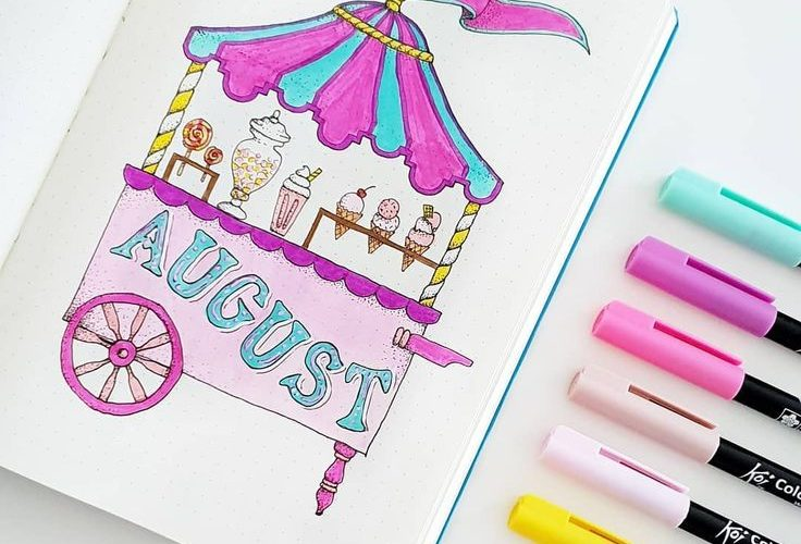 Discover over 40 bullet journal monthly cover ideas and plan your bullet journal…