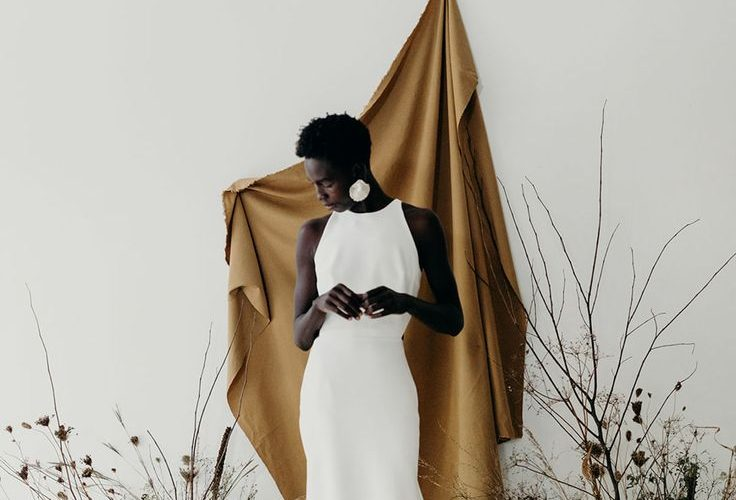 ORGANIC, MINIMAL WEDDING INSPIRATION FOR THE MODERN BRIDE beautiful bride, black…