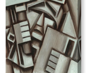 Cubist Artwork NY Statue Of Liberty Canvas Print For Sale By Artist Tommervik