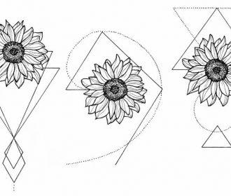 WTKE ON INSTAGRAM ( @sofia_finardi ) sketching | tattoo | sunflower | tattoos | …