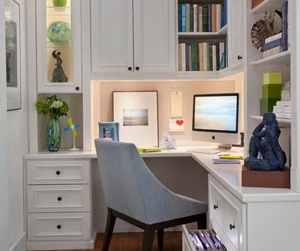 20 Home Office Designs for Small Spaces | Daily source for inspiration and fresh…