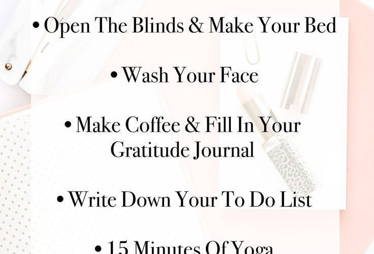 A #GIRLBOSS needs a special, productive morning routine to be able to run her da…