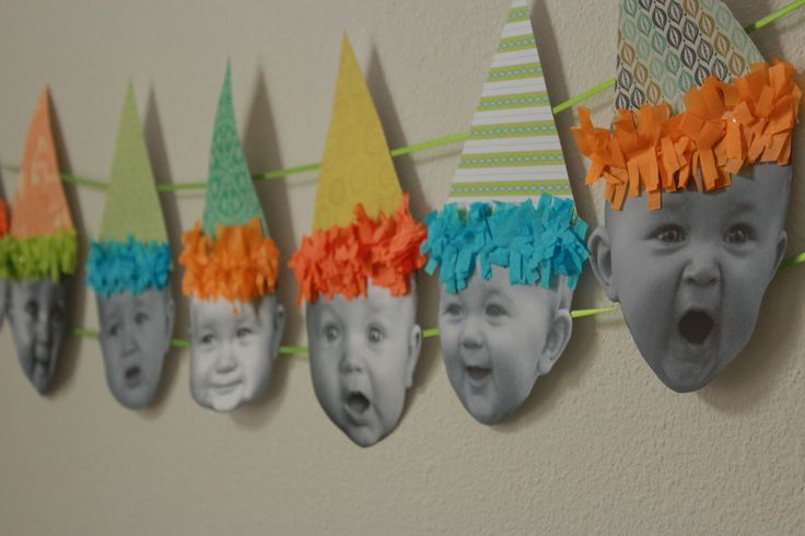 Baby Birthday Banner: The best kind of decor is personalized decor, and this bir…