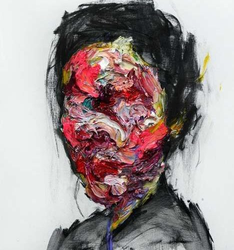 Colorful Faceless Paintings – Artist KwangHo Shin Captures the Complexity of Hum…