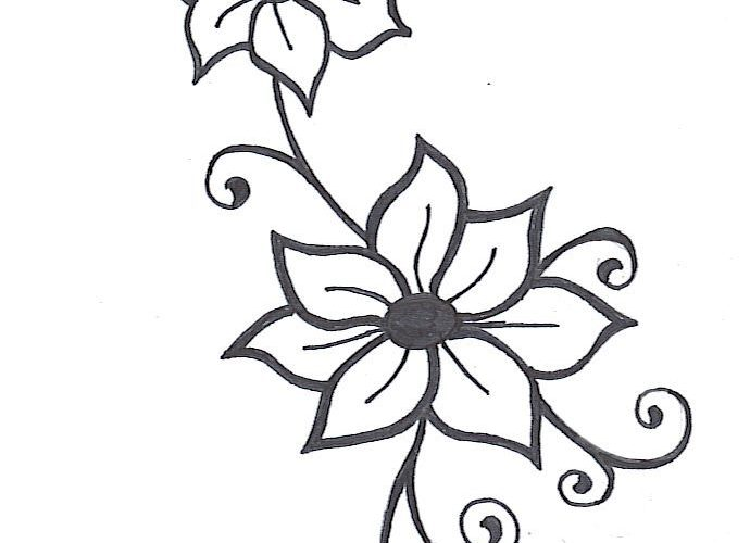 Flower Vine Drawings Images & Pictures – Becuo – ClipArt Best – ClipArt Best