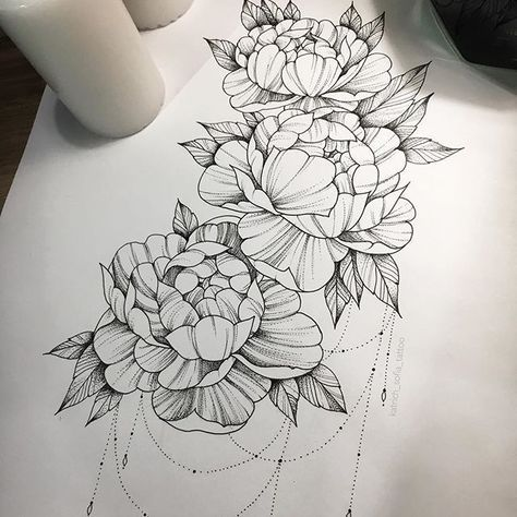 Flowers tattoo back peony 38 trendy Ideas