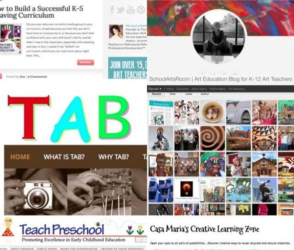 Here is a blog for all you Art Teachers -30 of the best, inspiring and useful ar…