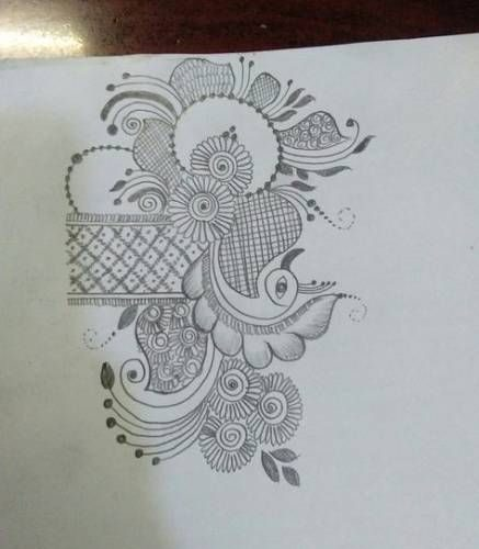 39+ Ideas Flowers Design Sketch For 2019