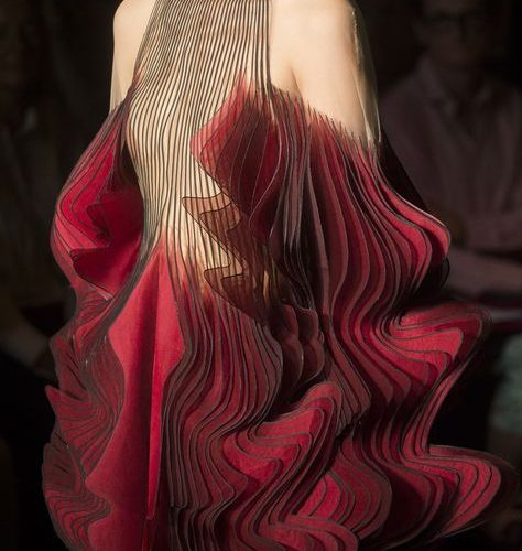 Iris Van Herpen at Couture Fall 2018 (Details)