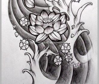 Japanese Lotus by Metalhead99.devia… on @deviantART