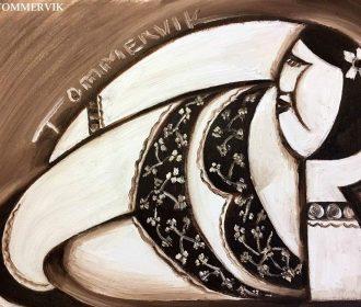Beautiful Hawaiian Artwork Woman Hawaii Painting For Sale By Artist Tommervik