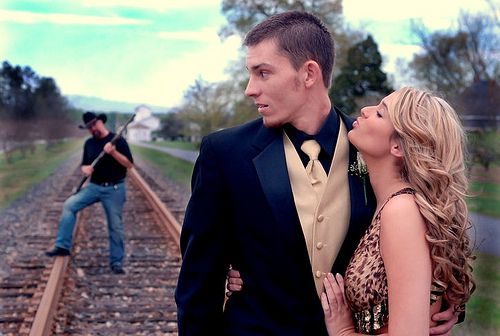 This picture is awesome. Will have to convince a future couple to do this in the…