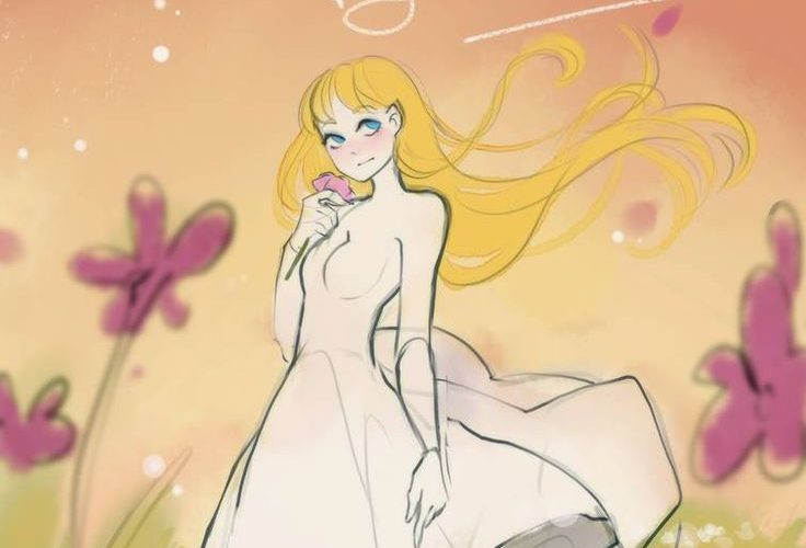 [close] YCH Auction: Flowers by elfexar on DeviantArt