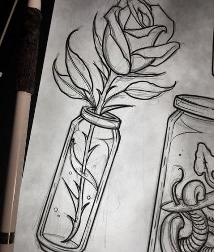 Flowers Tattoo Designs Sketches Roses 24 Ideas For 2019