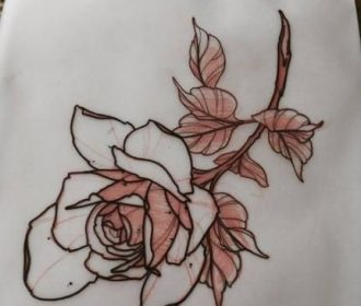 Flowers Tattoo Sketch Traditional 17+ Ideas For 2019