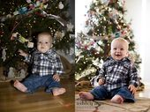 How to take better pics in front of your Christmas tree.– Use the Av mode (set …