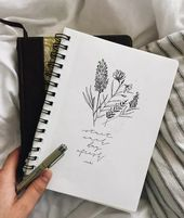 30 Simple Ways to Draw Flowers #art #drawings // Flower drawing ideas, floral dr…