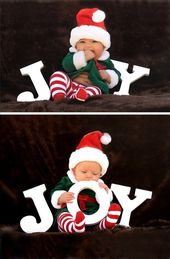Christmas Pictures for Babies – Best Ideas for DIY Baby's First Christmas Photos…