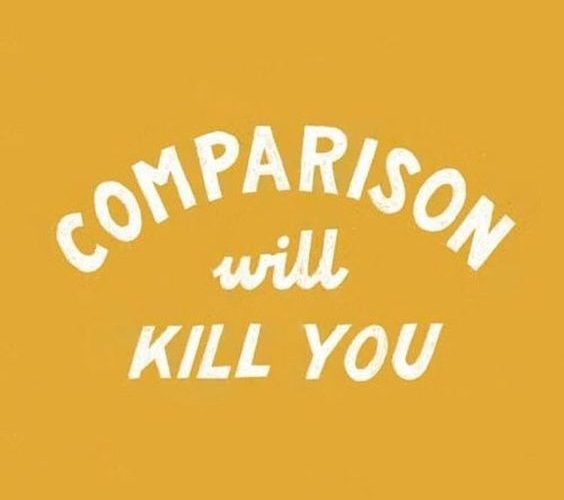 Don't Compare… BE YOU! . . #dontcompare #beyou #comparisonwillkill #quote #spa…