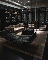 Nice Great Artistic Black and White Modern Living Room Ideashttps://homeofpondo….