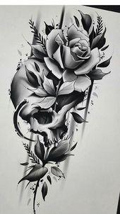 Tattoo Designs Skull Art Ink 46+ Trendy Ideas