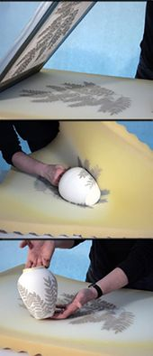 Today, I am going to share a ceramic decorating technique that was adapted from …