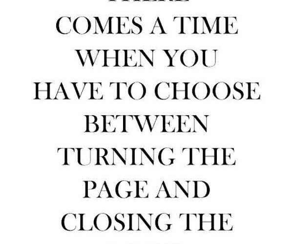Turn the page. There are a lot of blank pages to be filled! Evidently..you msy h…