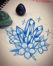 1000+ ideas about Crystal Tattoo on Pinterest | Pretty tattoos …
