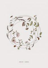 51 Trendy Flowers Wreath Sketch