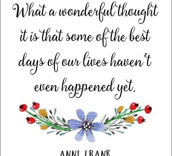 Anne Frank Quote Free Inspirational Printable | On Sutton Place | Part of a larg…