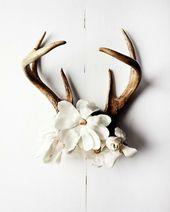 Antlers & Flowers #NWvintage
