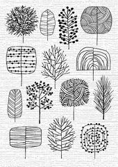 Creative ways to draw trees: