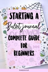 How to start a bullet journal, bullet journal inspiration, bullet journal spread…