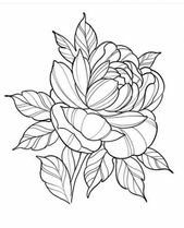 Tattoo flower design sketches drawings 35+ Ideas