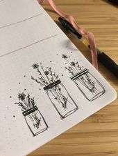 30 Ways to Draw Flowers #drawings #doodles // Things to draw, floral drawing, fl…