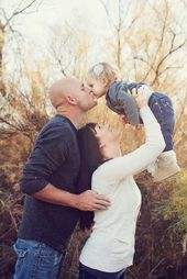 Familienbild-Pose-Ideen mit einem Kind – #einem #FamilienbildPoseIdeen #family #…
