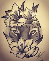 Flowers Drawing – 75 Picture Ideas