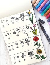 Learn how to draw flowers with Atristro. Step by step tutorial in how to draw fl…